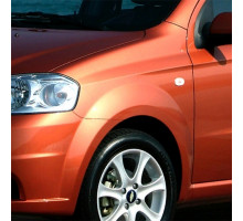 Крыло переднее левое в цвет кузова Chevrolet Aveo T250 (2006-2012) седан