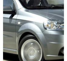Крыло переднее правое в цвет кузова Chevrolet Aveo T250 (2006-2012) седан