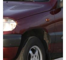 Крыло переднее левое в цвет кузова Niva Chevrolet (2002-2009)